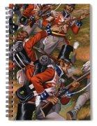 The Battle Of Corunna Spiral Notebook