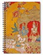 The Battle Of Kurukshetra Spiral Notebook
