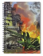 The Battle Of Midway Spiral Notebook