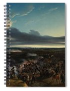 The Battle Of Montmirail Spiral Notebook