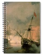 The Battle Of Navarino Spiral Notebook