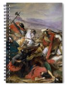 The Battle Of Poitiers Spiral Notebook