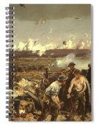 The Battle Of Vilmy Ridge Spiral Notebook