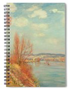 The Bay And The River Spiral Notebook