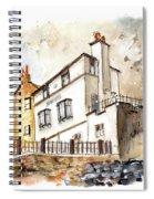 The Bay Hotel In Robin Hoods Bay Spiral Notebook