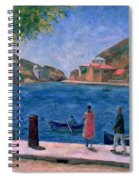 The Bay Of Balaklava Spiral Notebook
