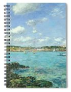 The Bay Of Douarnenez Spiral Notebook