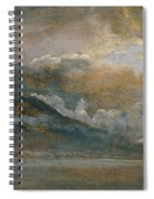 The Bay Of Naples With Vesuvius Spiral Notebook