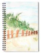 The Beach Spiral Notebook
