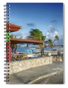 The Beach - Arashi Beach - Aruba - West Indies Spiral Notebook
