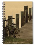 The Beach Comber Spiral Notebook