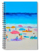 The Beach Holiday Spiral Notebook