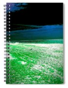 The Beach In Colors  Spiral Notebook