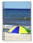 The Beach Is Mine Spiral Notebook