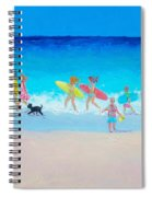 The Beach Parade Spiral Notebook
