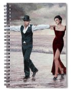 The Beach Quartet, Lady In Red Spiral Notebook