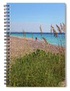 The Beaches Of Boca Grande Spiral Notebook
