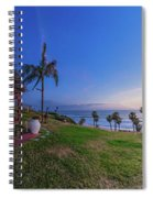 The Beachombers Views Spiral Notebook