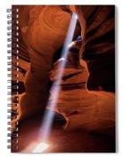 The Beam Of Light Spiral Notebook