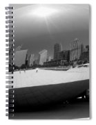The Bean B-w Spiral Notebook