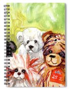 The Bears From The Yorkshire Moor 02 Spiral Notebook