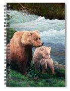 The Bears Of Katmai Spiral Notebook