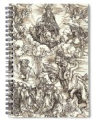 The Beast With Two Horns Like A Lamb Spiral Notebook