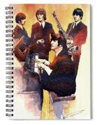 The Beatles 01 Spiral Notebook