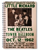 The Beatles And Little Richard Poster Collection 6 Spiral Notebook