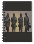 The Beatles N F Spiral Notebook