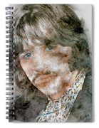 The Beatles Ringo Starr Spiral Notebook