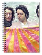 The Beatles. Watercolor Spiral Notebook