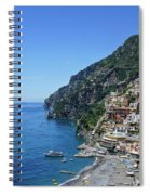 The Beautiful And Famous Amalfi Coast Spiral Notebook