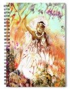 The Beautiful Black Bride Spiral Notebook