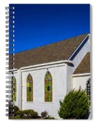 The Beautiful Bodega Church St. Teresas Of Avila  Spiral Notebook