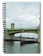 The Beautiful Bridge Of Lions Spiral Notebook