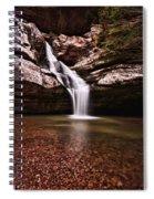The Beautiful Cedar Falls Spiral Notebook