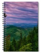 The Beautiful Olympic Mountains At Dawn - Olympic National Park, Washington Spiral Notebook