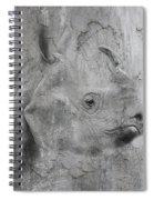 The Beautiful Rhino Spiral Notebook