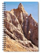 The Beauty In Erosion Spiral Notebook
