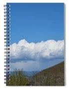 The Beauty Of Rain Clouds Spiral Notebook
