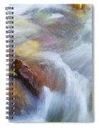 The Beauty Of Silky Water Spiral Notebook