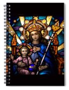 The Beauty Of Stained Glass Spiral Notebook
