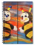 The Bees, Joey And Lilly Spiral Notebook