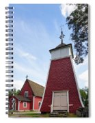 The Bellfry And The Church Of Kustavi Spiral Notebook