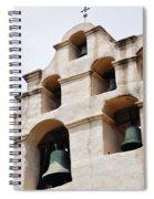 The Bells Of Mission San Gabriel Arcangel Portrait Spiral Notebook