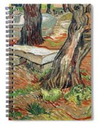 The Bench At Saint Remy Spiral Notebook