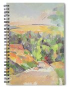 The Bend In The Road Spiral Notebook