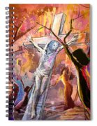 The Bible Crucifixion Spiral Notebook