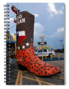 The Big Boot Spiral Notebook